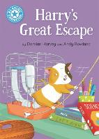 Reading Champion: Harry's Great Escape: Independent Reading Blue 4 - Reading Champion (Hardback)
