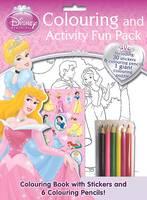 Disney Princess Colouring and Activity Fun Bag