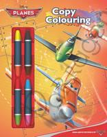 Disney Planes Copy Colouring Book