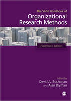 The SAGE Handbook of Organizational Research Methods (Paperback)