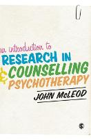 An Introduction to Research in Counselling and Psychotherapy (Hardback)