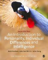 An Introduction to Personality, Individual Differences and Intelligence - Sage Foundations of Psychology Series (Hardback)