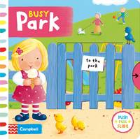 Busy Park - Busy Books (Board book)