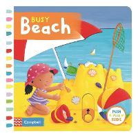 Busy Beach - Busy Books (Board book)