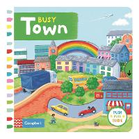 Busy Town - Campbell Busy Books (Board book)