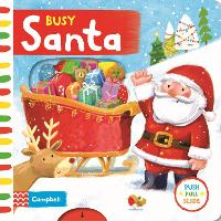 Busy Santa - Campbell Busy Books (Board book)