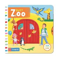 Busy Zoo - Busy Books (Board book)
