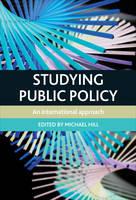 Studying Public Policy: An International Approach (Hardback)