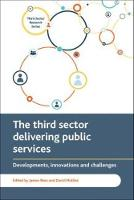 The third sector delivering public services: Developments, innovations and challenges - Third Sector Research Series (Hardback)