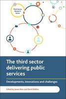 The third sector delivering public services: Developments, innovations and challenges - Third Sector Research Series (Paperback)