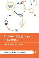 Community groups in context: Local activities and actions - Third Sector Research Series (Hardback)
