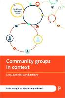 Community groups in context: Local activities and actions - Third Sector Research Series (Paperback)