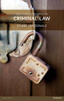 Text, Cases and Materials on Criminal Law (Paperback)