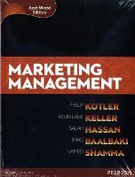 Marketing Management (Arab World Editions) with MyMarketingLab Access Card