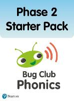 Bug Club Phonics Phase 2 Starter Pack (24 books) - Phonics Bug