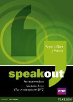 Speakout Pre-Intermediate Students' Book eText Access Card with DVD - speakout