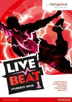 Live Beat 1 Students' Book for MyEnglishLab Pack - Upbeat (Paperback)