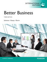 Better Business, Plus MyBizLab with Pearson Etext