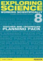 Exploring Science: Working Scientifically Teacher & Technician Planning Pack Year 8 - Exploring Science 4