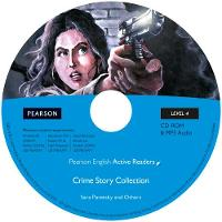 Level 4: Crime Story Collection Multi-ROM with MP3 for Pack - Pearson English Active Readers (CD-ROM)