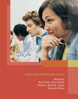 Marketing:Real People, Real Choices Pearson New International Edition, plus MyMarketingLab without eText