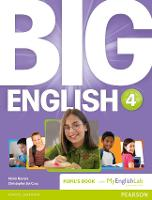 Big English 4 Pupil's Book and MyLab Pack - Big English