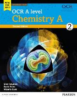 OCR A level Chemistry A Student Book 2 + ActiveBook - OCR GCE Science 2015