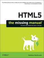 HTML5: The Missing Manual (Paperback)