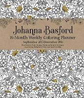 Johanna Basford 2017-2018 16-Month Coloring Diary (Diary)