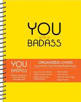 You are a Badass 2019-2020 17-Month Monthly/Weekly Organised Living Diary Planner (Diary)