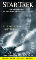 Department of Temporal Investigations: Forgotten History - Star Trek (Paperback)