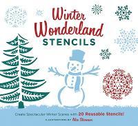 Winter Wonderland Stencils