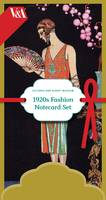 Victoria and Albert Museum 1920s Fashion Notecard Set