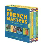 Mini French Masters Boxed Set: 4 Board Books Inside! (Board book)
