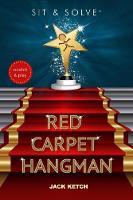 Sit & Solve Red Carpet Hangman - Sit & Solve Series (Paperback)