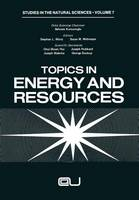 Topics in Energy and Resources - Ettore Majorana International Science Series 10 (Paperback)