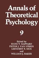 Annals of Theoretical Psychology - Annals of Theoretical Psychology 9 (Paperback)