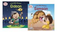 Samson/Gideon Flip-Over Book (Paperback)