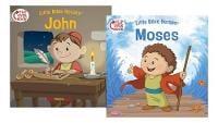 Moses/John Flip-Over Book (Paperback)