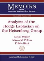 Analysis of the Hodge Laplacian on the Heisenberg Group - Memoirs of the American Mathematical Society (Paperback)