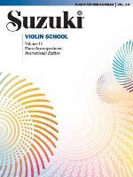 Suzuki Violin School Piano Acc., Volume 10