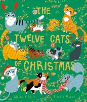 The Twelve Cats of Christmas (Paperback)