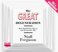 The Great Degeneration (CD-Audio)