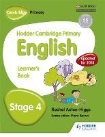 Hodder Cambridge Primary English: Learner's Book Stage 4 - Hodder Cambridge Primary English (Paperback)