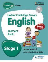 Hodder Cambridge Primary English: Learner's Book Stage 1 - Hodder Cambridge Primary English (Paperback)