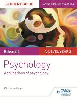 Edexcel A-level Psychology Student Guide 3: Applications of psychology (Paperback)