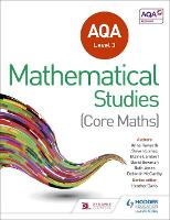 AQA Level 3 Certificate in Mathematical Studies (Paperback)