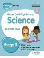 Hodder Cambridge Primary Science Learner's Book 5 (Paperback)