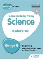 Hodder Cambridge Primary Science Teacher's Pack 5 (Paperback)
