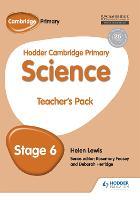 Hodder Cambridge Primary Science Teacher's Pack 6 (Paperback)